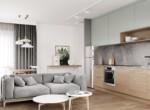 2-bedroom apartment in Lodz Central Park close to Politechnika 2