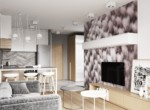 2-bedroom apartment in Lodz Central Park close to Politechnika 6
