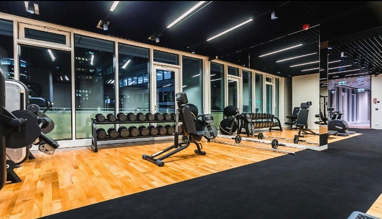 apartment with fitness club warsaw