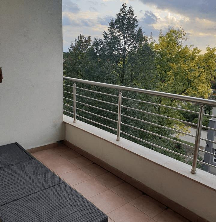 balcony narutowicza flat for rent