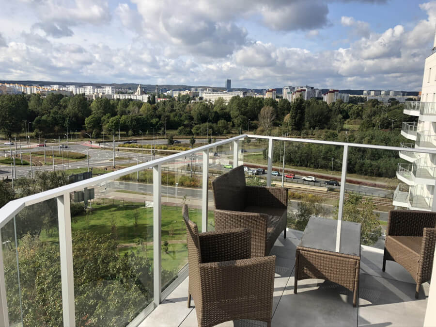 balcony view gdansk