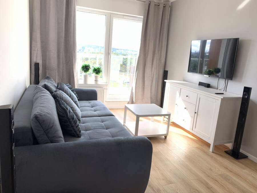 gdansk apartment close to the beach living room