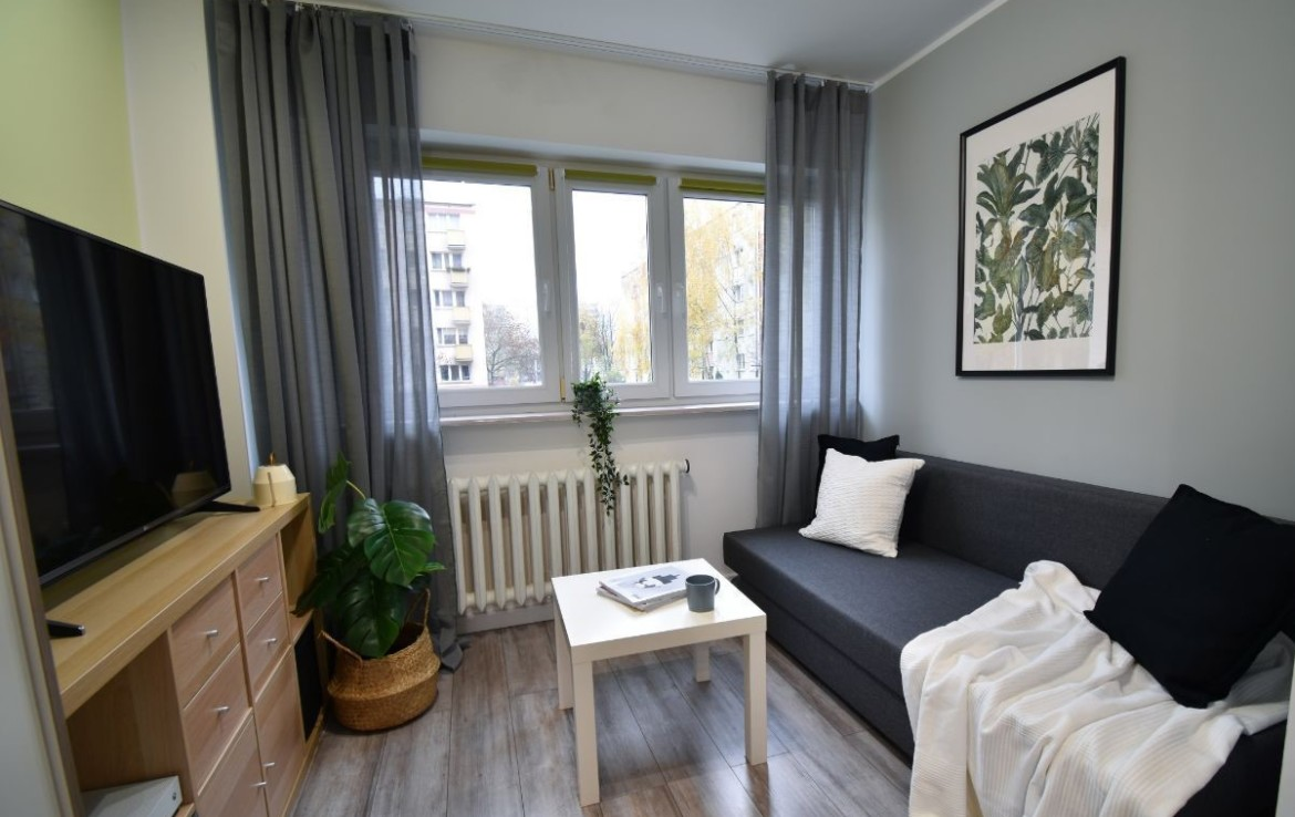 investment apartment for sale in Warsaw, close to Galeria Mokotow 2