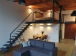 Designer loft with mezzanine to rent in Lodz 2