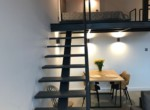 Designer loft with mezzanine to rent in Lodz 6