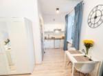 Furnished studio apartment in Warsaw, Praga 8