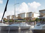 Luxury apartments for sale in Gdansk  poland with marina boat slips