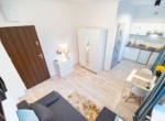 Real estate investment Poland- apartment divided into two studios ROI 8,1% Net 9