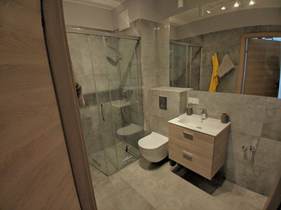 bathroom gdansk. for rent poland apartment