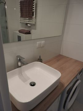 bathroom single studio for rent gdansk