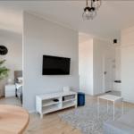 flat gdansk livingroom