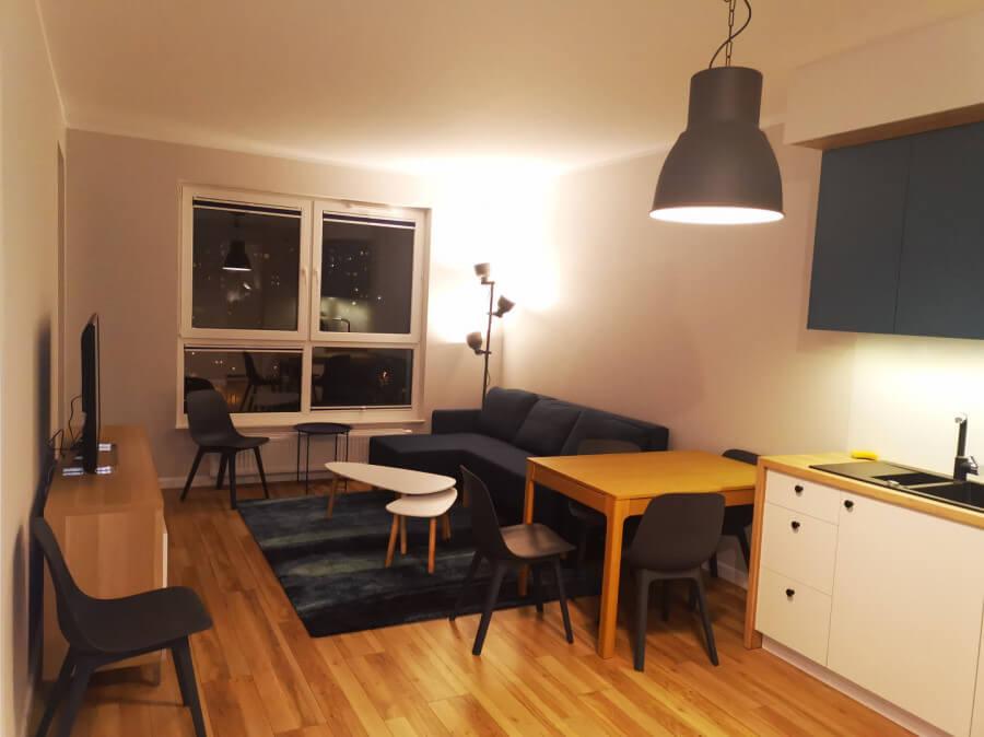 gdansk przymorze living room apartment