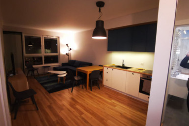 kitchen gdansk flat to rent