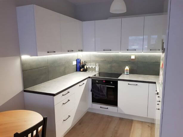kitchen in flat to rent warsaw poland