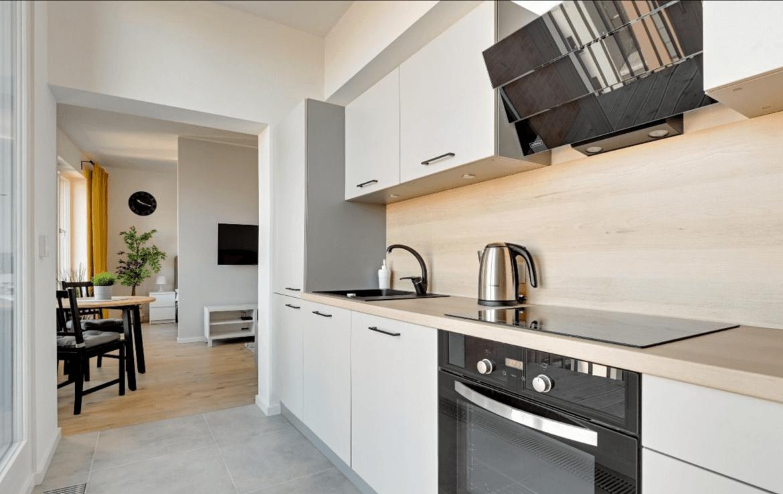 kitchen in gdansk real estate agency