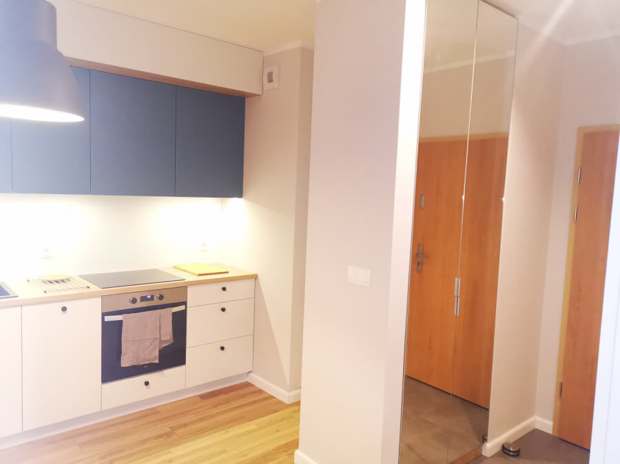 kitchenette living room gdansk przymorze for rent