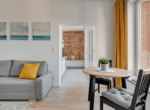 living room rent an apartment gdansk