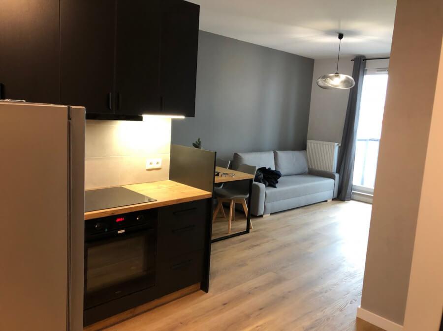 living room tricity flat gdansk poland