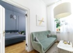 apartment in renovated tenement house building Lodz 12