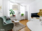 apartment in renovated tenement house building Lodz