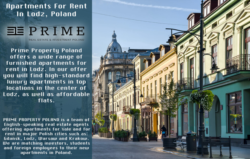 Properties for sale rent in Poland Lodz