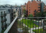 Riverview from the balcony gdansk poland