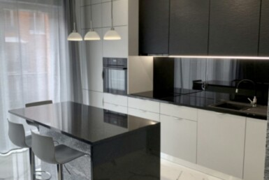 rent an apartment ing gdansk kitchen