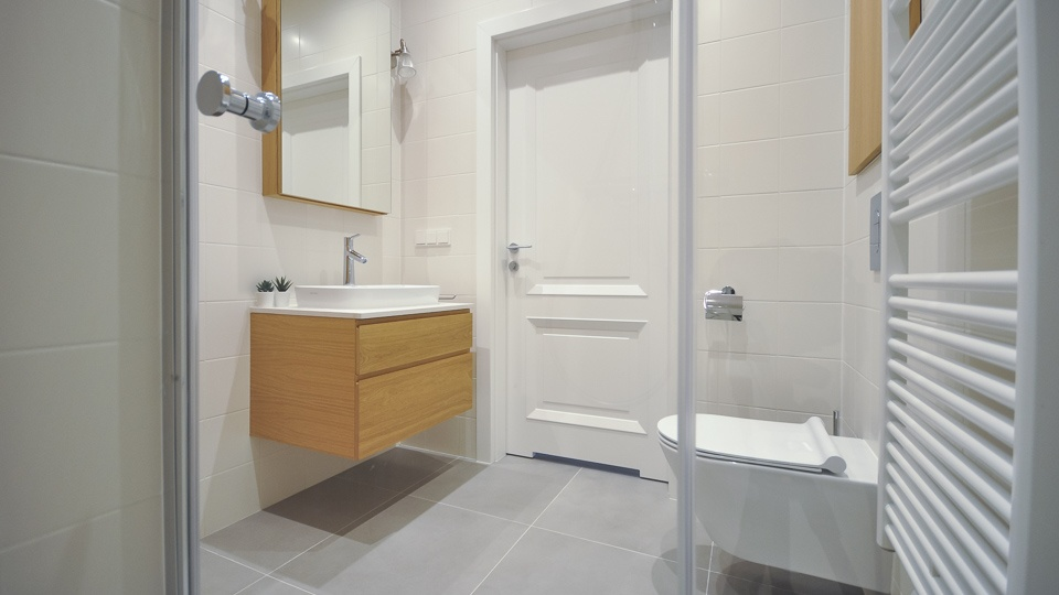 bathroom in flat for rent gdansk