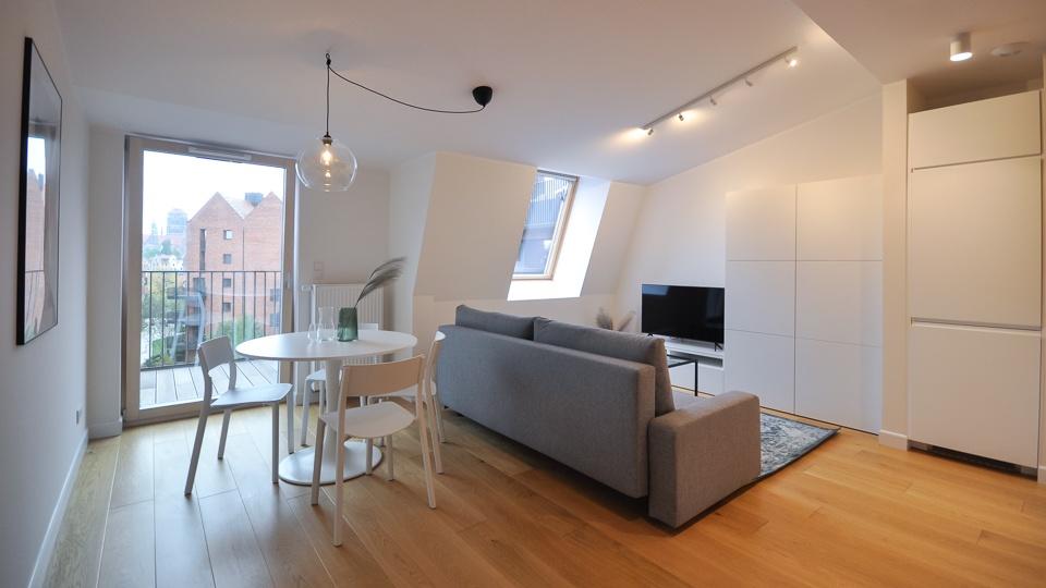 flat for rent riverview gdansk
