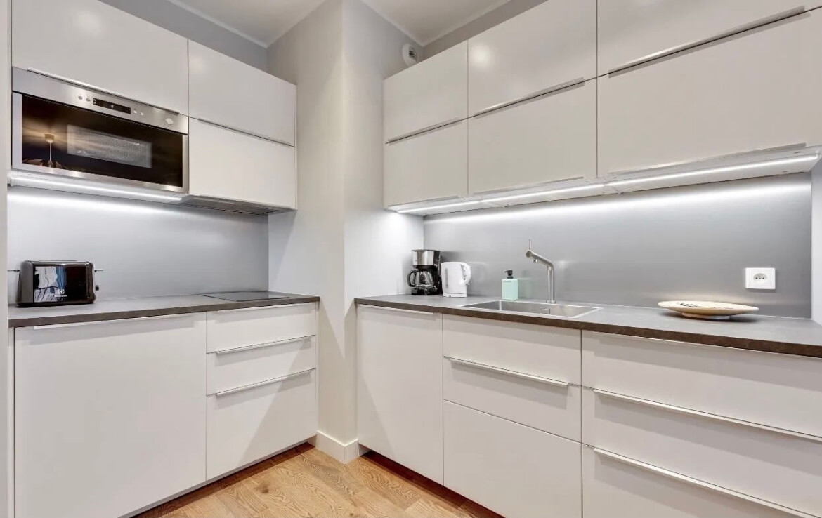 kitchen flat for rent in gdansk
