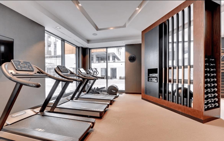 fitness gdansk flat for rent